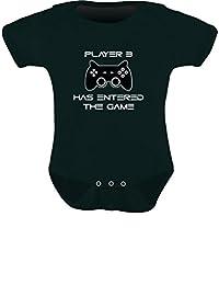 TeeStars - Player 3 Has Entered The Game - Gift 3rd Child Gamer Baby Onesie