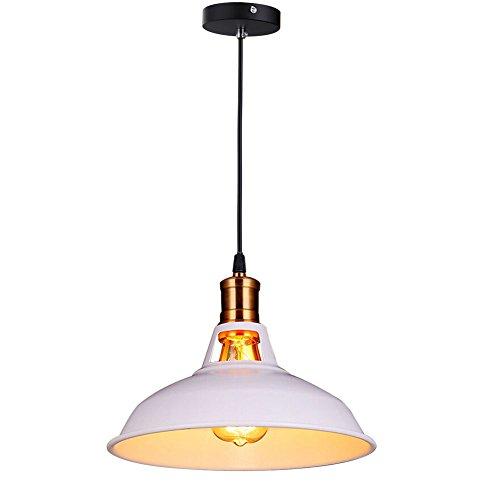 Fuloon Vintage Industrial Ceiling Light 1 Light Metal