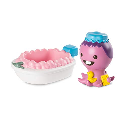Sago Mini, Dennis' Bathtub Squirter and Boat Floatie, BPA and Mold Free Easy Clean Bath Toys, for Ages 1 and Up