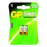 Replacement For 910A-C2 GP SUPER ALKALINE 1.5V N-CELL 2PK CARDED Battery 10 PACK