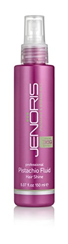 Jenoris Pistachio Fluid - Hair Shine Silicon Hairspray 5.07 fl.oz/150 ml. Hair care products for women and men; Infused with Pistachio Oil providing moisture and shiny volume throughout the (Style High Gloss Spray Gel)