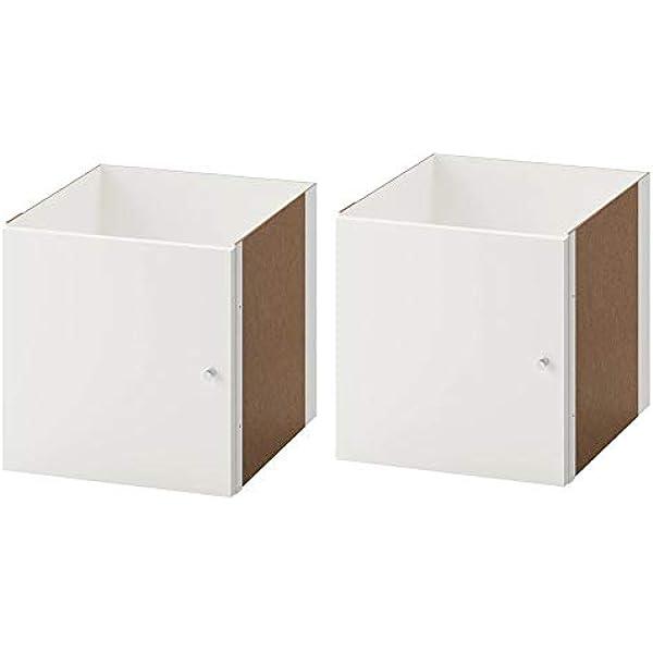 Ikea Kallax Uso con puerta en blanco; (33 x 33 cm); compatible con Expedit: Amazon.es: Hogar