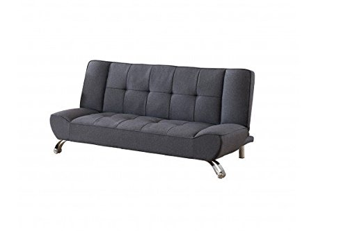 click clack sofa bett in grau g nstig kaufen. Black Bedroom Furniture Sets. Home Design Ideas