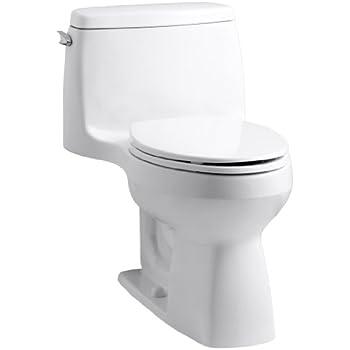 kohler 3810 0 santa rosa comfort height elongated gpf toilet with aquapiston flush. Black Bedroom Furniture Sets. Home Design Ideas