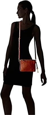 Fossil Campbell Large Crossbody Brown