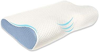 枕 安眠 人気 肩こり 快眠枕 低反発枕 立体構造 いびき防止 疲れ取り ヘルスケア 首・頭・肩をやさしく支える 通気性抜群 (大人向け) 日本語説明書 1年保証付