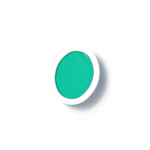 - Dixon 00819 Oval Pan Watercolor Refill 12/DZ Turquoise