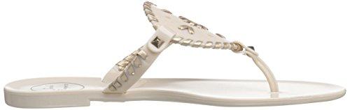 Sandal Jelly Thong Rogers Jack Georgica Women's Bone gold aqHfXPAx