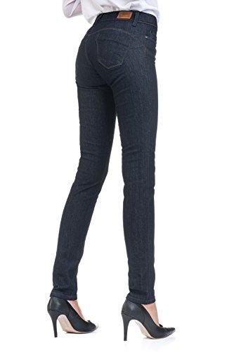 Wonder Salsa Up dsencolls Push Bleu Moyenne Taille Jeans Sq7U5