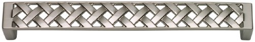 Atlas Homewares Lattice - Atlas Homewares 312-BRN Lattice Collection 6.6-Inch Mega Pull, Brushed Nickel