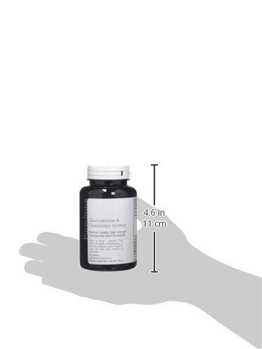 1500mg de Glucosamina y la Condroitina HLC x 180 tabletas (3 meses de suministro). La forma más eficaz y biológicamente activa: 90% de condroitina, ...