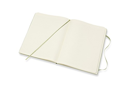 Moleskine Classic Notebook XL Ruled Willow Green Hardcover (8055002855143) Photo #5