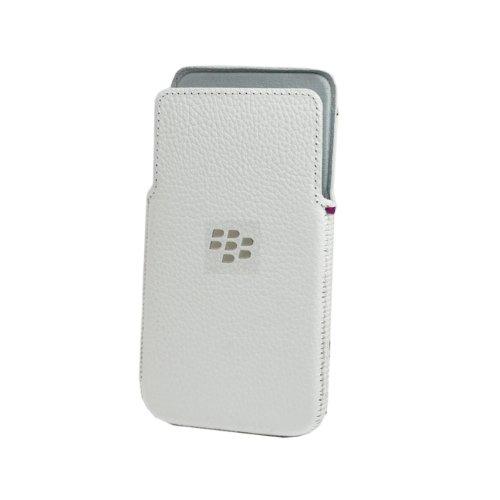 (BlackBerry OEM Z30 White Leather)