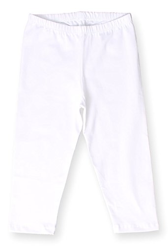 White Cotton Capris - 9