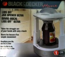 Black & Decker Home - Lids Off Jar Opener Ultra - JW260 - White by BLACK+DECKER