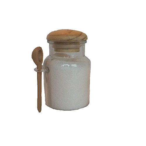 8oz glass jar with spoon - 8