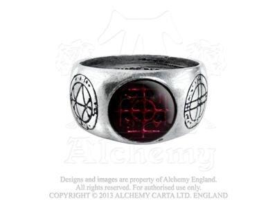 Alchemy Gothic Agla Ring Size T, US 9.5, England [Jewelry] -