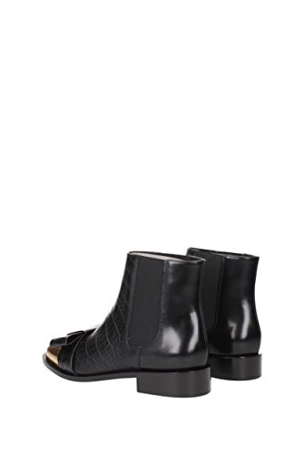 Boots Ankle Leather Women Marni TCMSV10C03LV588 Black UK qFZ5ZcwrWd