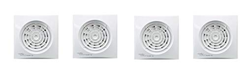 by Envirovent NO Timer Envirovent SIL100S Silent Extractor Fan for Bathroom En-Suites