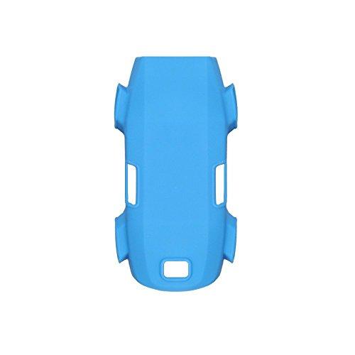 Cover Protective Slip Anti (PENIVO Drone Body Silicone Protective Skin Case Cover Anti Slip Protector Spare parts for DJI Spark Accessories (Blue))