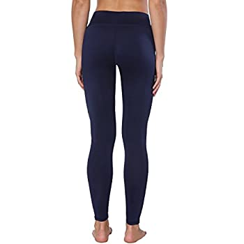 Yoga Pants, Feivo Women's Power Flex Yoga Pants Tummy Control Workout Yoga Capris Pants Leggings,mesh-deep Blue,large 4