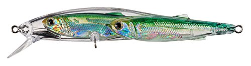 Livetarget Glass Minnow 4 1/4″ Slv/Grn Fishing Products For Sale