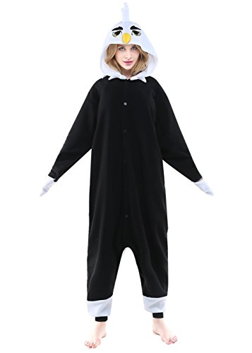 Newcosplay Adult Unisex Bee Owl Bat Fly mouse Onesie Pajama Costume (L, (Fly Eyes Costume)