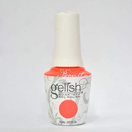 Enamel Mango (Gelish Gel Polish - 1110182 Manga-Round With Me 15ml / 0.5oz)