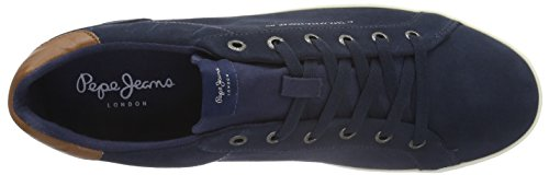 Homme 585marine Basic Bleu Baskets Jeans North Basses Pepe 0xCw8UqR