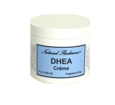 Hormone Growth Dhea (Natural Radiance DHEA (Bio-identical) Unscented & Paraben-Free - Topical Creme 4 oz. Jar. DHEA is a precursor, or source ingredient, to virtually every hormone your body needs.)