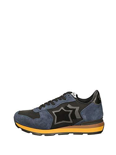 Atlantic Stars Antares Sneakers Bassa Uomo Nero Blu 46