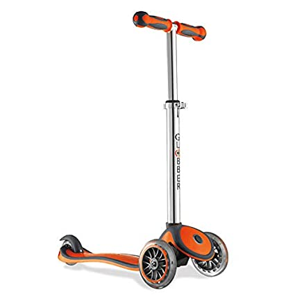 Amazon.com: Scooter Globber de 3 ruedas de altura ajustable ...