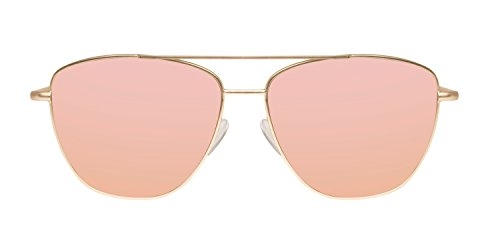 Rosa Hawkers Karat de Dorado Gold Lax Sol 65 Unisex Gafas Rose SzwSg4rBq