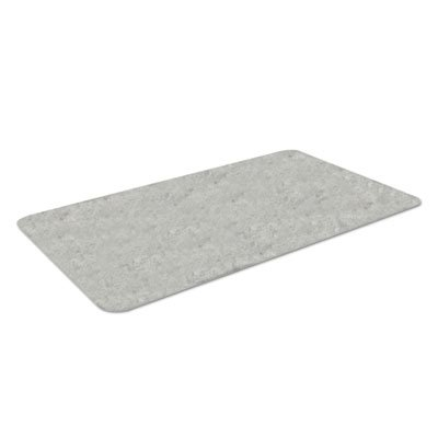 Workers-Delight Slate Standard Anti-Fatigue Mat, 36 x 60, Light Gray, Sold as 1 Each by Crown
