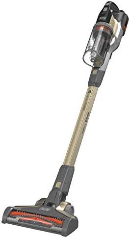 Black+Decker BHFEV362DA-QW - Aspirador de Escoba Powerseries sin Cables, 45 Airwatts 36 V-2 Ah, autonomía de 85 min-Cuenco: 750 ml, Base de Carga para Polvo y Cepillo de cerdas Suaves, Color Verde:
