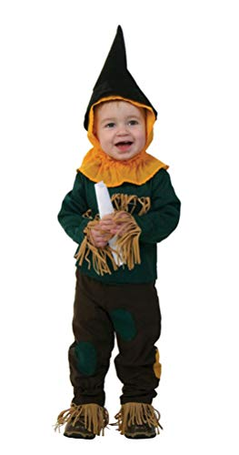 Scarecrow Costume for Baby, Infant Cute Halloween Cosplay Outfit for Toddler (Tag -