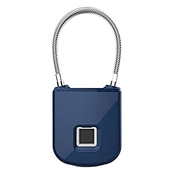 Image of Cables & Chains FlexSafe Biometric Fingerprint Lock with Removable & Interchangeable Cables (Includes Travel Cable, Heavy Duty Cable, Sport Cable and Bike Cable). USB Rechargeable and Waterproof. by AquaVault