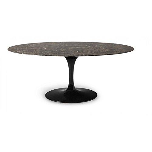 Tavoli.Design Tisch Tulip Eero Saarinen Ovale 219x121 Marmo ...