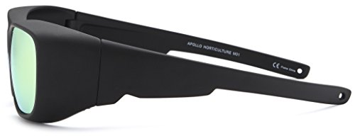 Apollo Horticulture Grow Light Glasses Goggles for Wear Fit Over Glasses for LED Grow Light Room UV400 Grow Room Safety Protective Eyewear for Intense LED Lighting Visual Eye Protection
