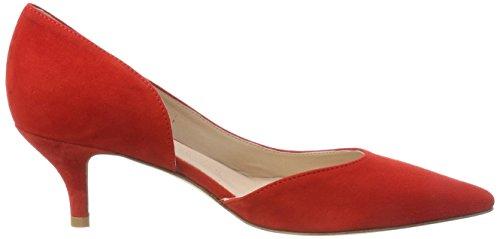 Kirsche Kennel 383 Rojo para de Zapatos Selma und Schmenger Cerrada con Punta Mujer tacón 7rwqa7nA