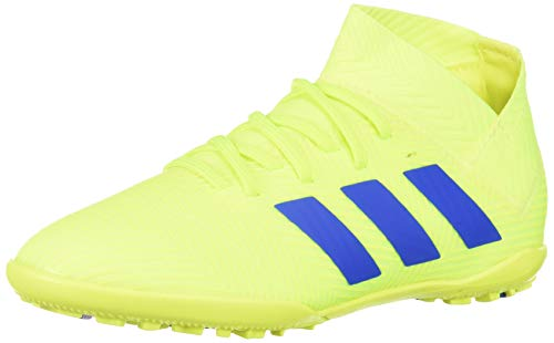 adidas Unisex Nemeziz 18.3 Turf, Solar Yellow/Football Blue/Active red, 6 M US Big Kid