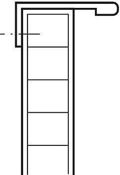Aluminium schwarz eloxiert 1 St/ück Griffleiste Alu mit Schraube Schrank-Griff L/änge 135 mm T/ürgriff f/ür r/ückseitige Verschraubung Gedotec M/öbelgriff K/üche Kantengriff Schubladengriff PALMA