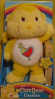 Care Bear Family Costume (Playful Heart Monkey 13 Care Bear Cousins with VHS Episodes King of the Moon and On Duty 2004