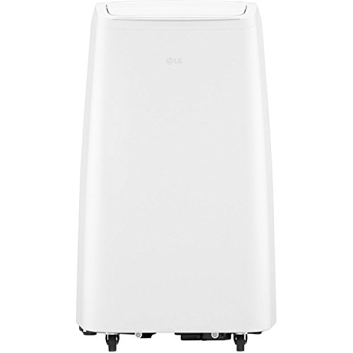 - LG LP0818WNR Portable, White 115V Air Conditioner, Rooms up to 200-Sq. Ft,