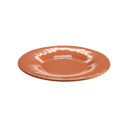 Terra Cotta Service Plate - Elite Global Solutions D10P-STC Round Plate, 10 1/4