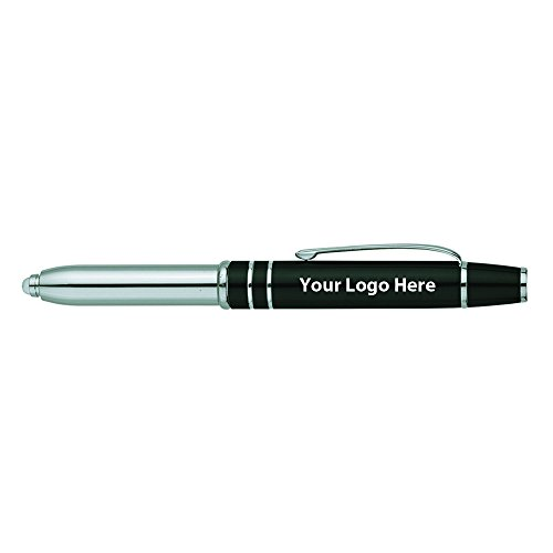 Precision Stylus / Pen / LED Light - 100 Quantity - $5.00 Each - PROMOTIONAL PRODUCT / BULK / BRANDED with YOUR LOGO / CUSTOMIZED by Sunrise Identity