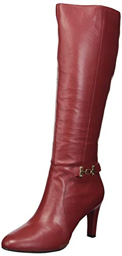 Bandolino Women's LAMARI Fashion Boot, Tango red, 9.5 M US