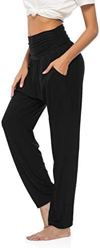 OYANUS Womens Yoga Sweatpants Wide Leg Loose Comfy Lounge Pants Workout Joggers Pants with Pockets 3