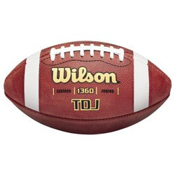 Wilson TDJ Traditional Junior Game Football F1360