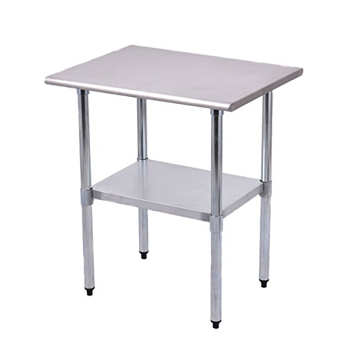 PROSPERLY U.S.Product 24'' x 30'' Stainless Steel Work Prep Table Commercial Kitchen Restaurant New by Prosperly